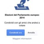 Facebook: Elezioni Europee