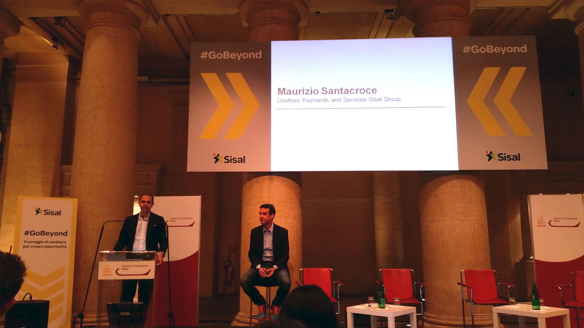 #GoBeyond Maurizio Santacroce (SisalPay)