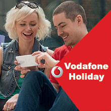 Vodafone Holiday in Italy prepaid SIM card