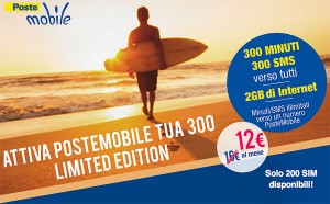 PosteMobile Tua 300 Limited Edition (Luglio 2014)