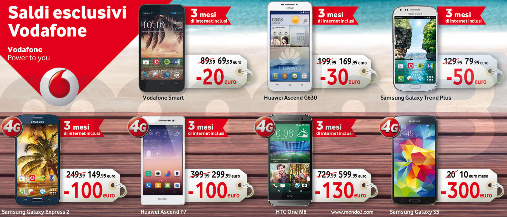Saldi Esclusivi Vodafone 2014 (Mondo3)