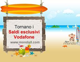 Tornano i Saldi esclusivi Vodafone (Estate 2014)