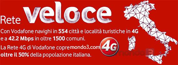 Vodafone Rete Veloce 4G LTE (Luglio 2014)