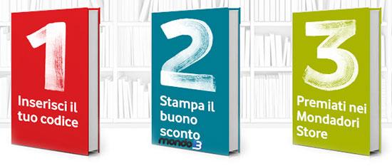 Vodafone You premio agosto 2014 libri Mondadori