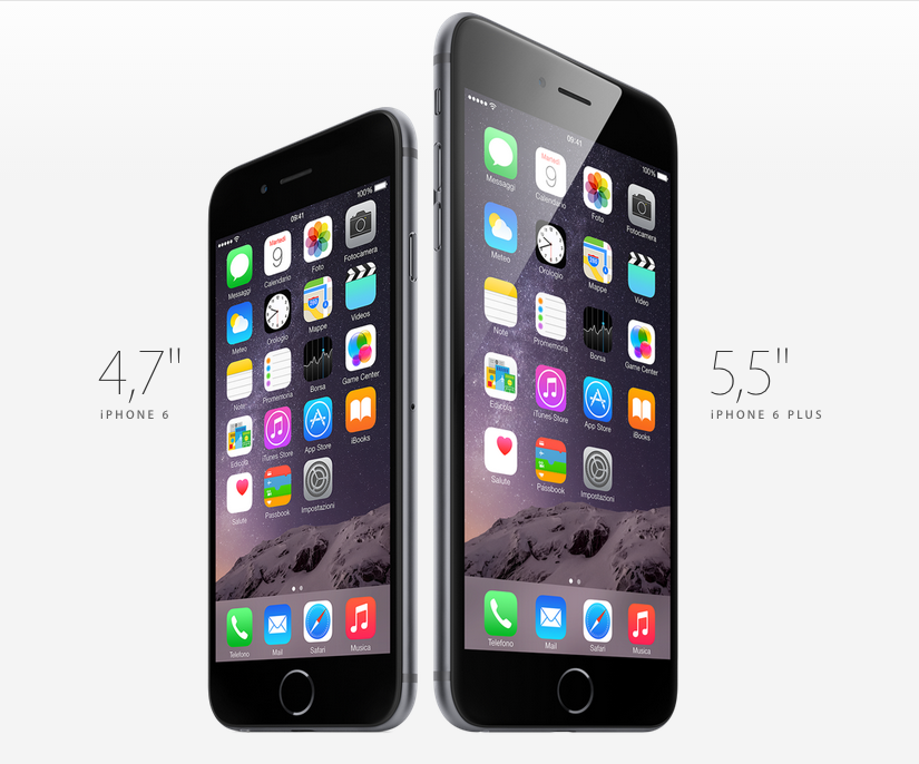 Apple iPhone6 e Apple iPhone 6 Plus