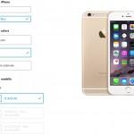 iPhone 6 modulo di prenotazione