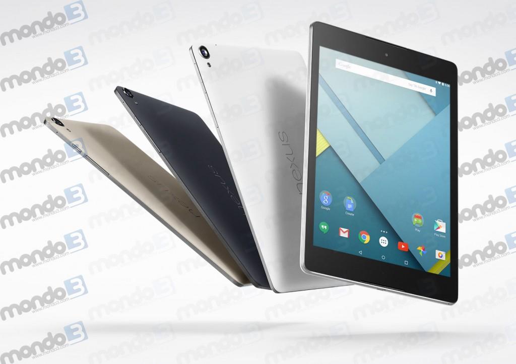 Da HTC e Google Nexus 9
