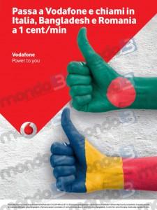 Vodafone MyCountry: promo ottobre 2014 Romania e Bangladesh