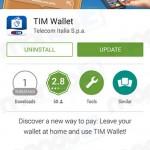 TIM Wallet: Update 27 ottobre