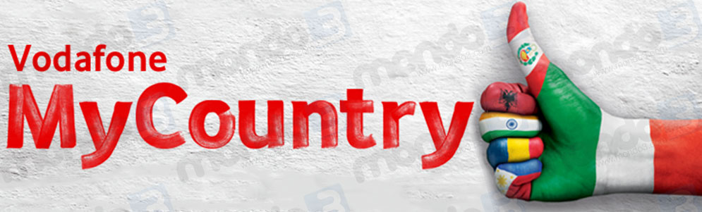 Vodafone MyCountry Mondo3