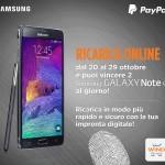 Wind. Parte oggi il concorso che regala il nuovo Samsung Galaxy Note 4