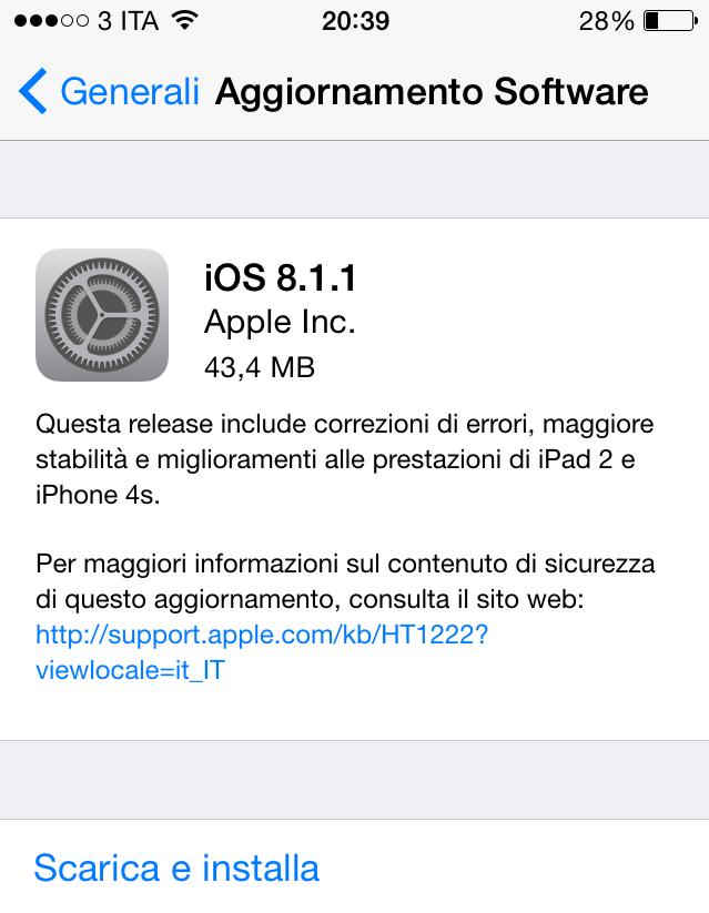 iOS 8.1.1