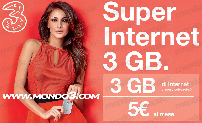 Super Internet 3 GB