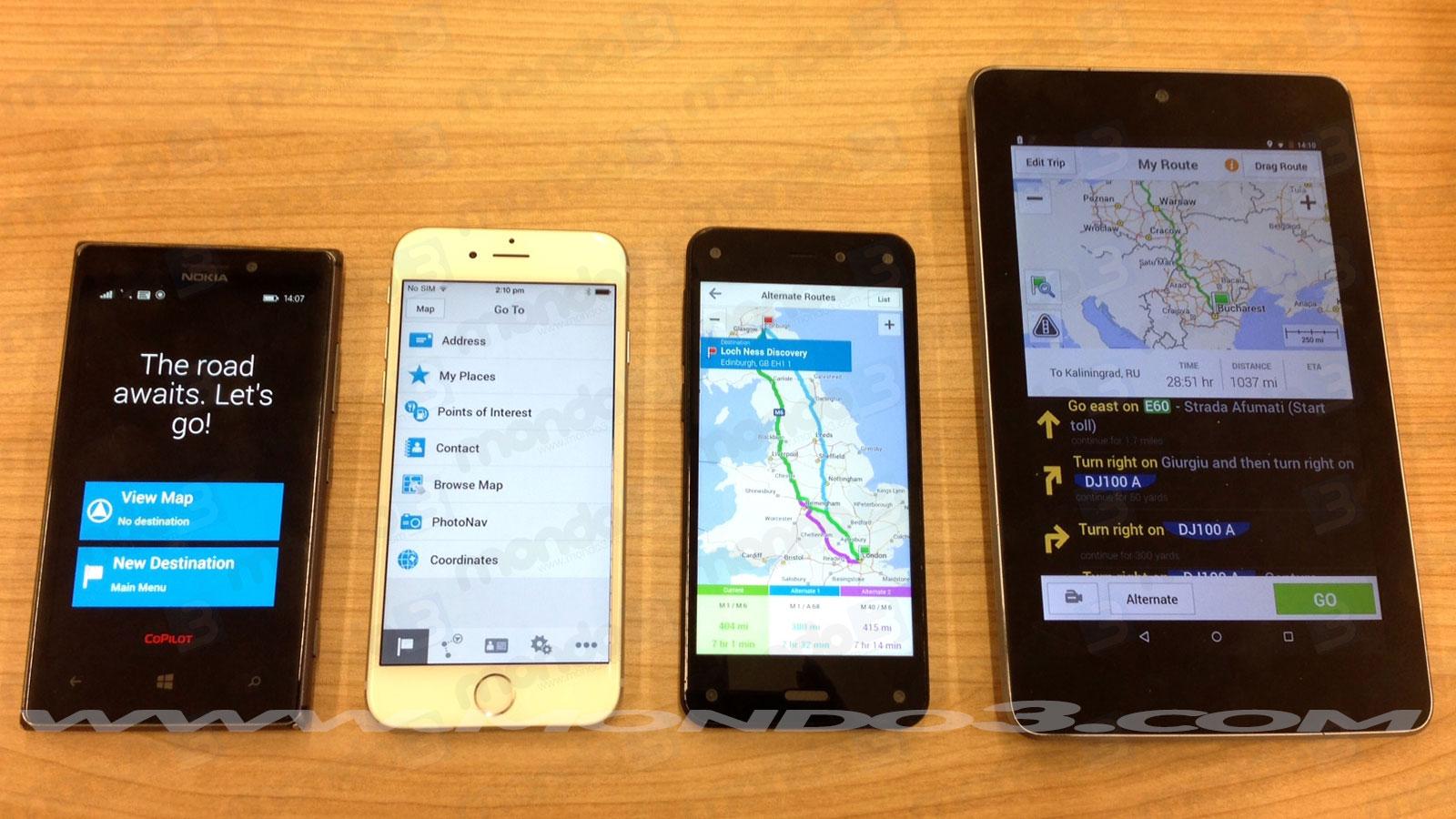 CoPilot GPS, navigatore satellitare: ora anche su Amazon AppStore