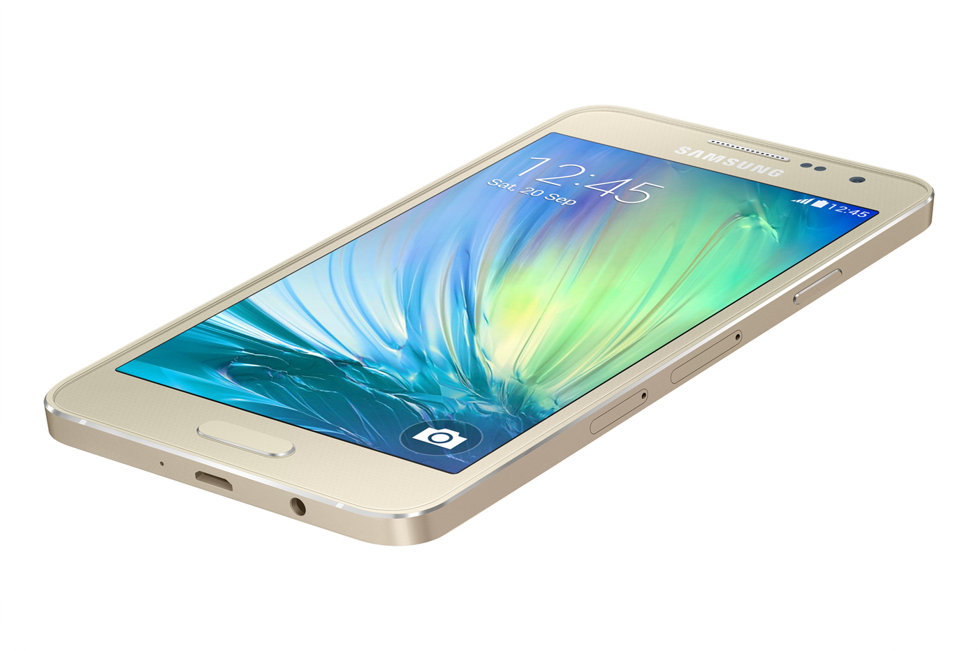 Samsung Galaxy A3_gold