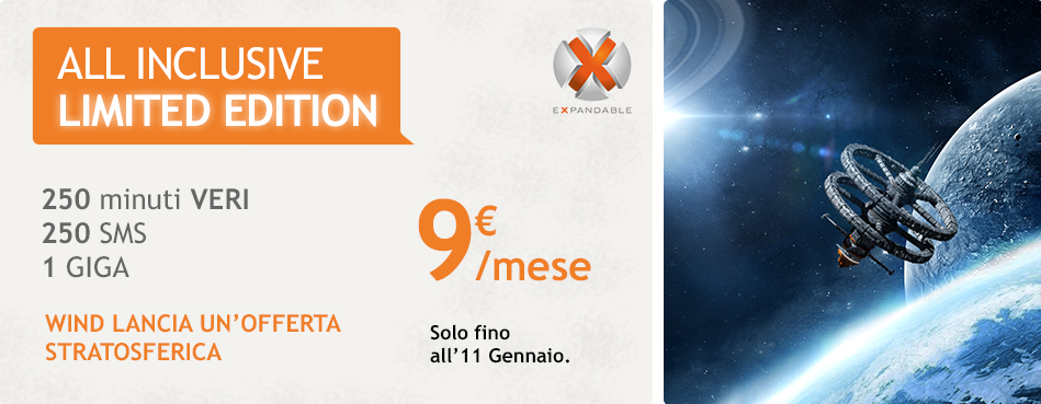 Wind All Inclusive Limited Edition (Natale 2014)