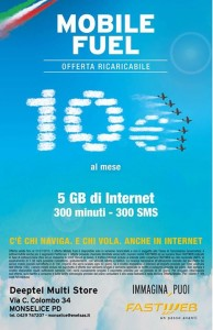 Fastweb Mobile Fuel 5GB
