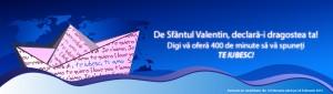 Promo Sfantul Valentin Digi Mobil: declara-i dragostea ta!
