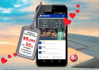 Vodafone: a San Valentino 2015 regala un viaggio