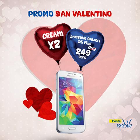 promo San Valentino 2015 PosteMobile