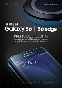 Samsung Galaxy S6 Prenotazione
