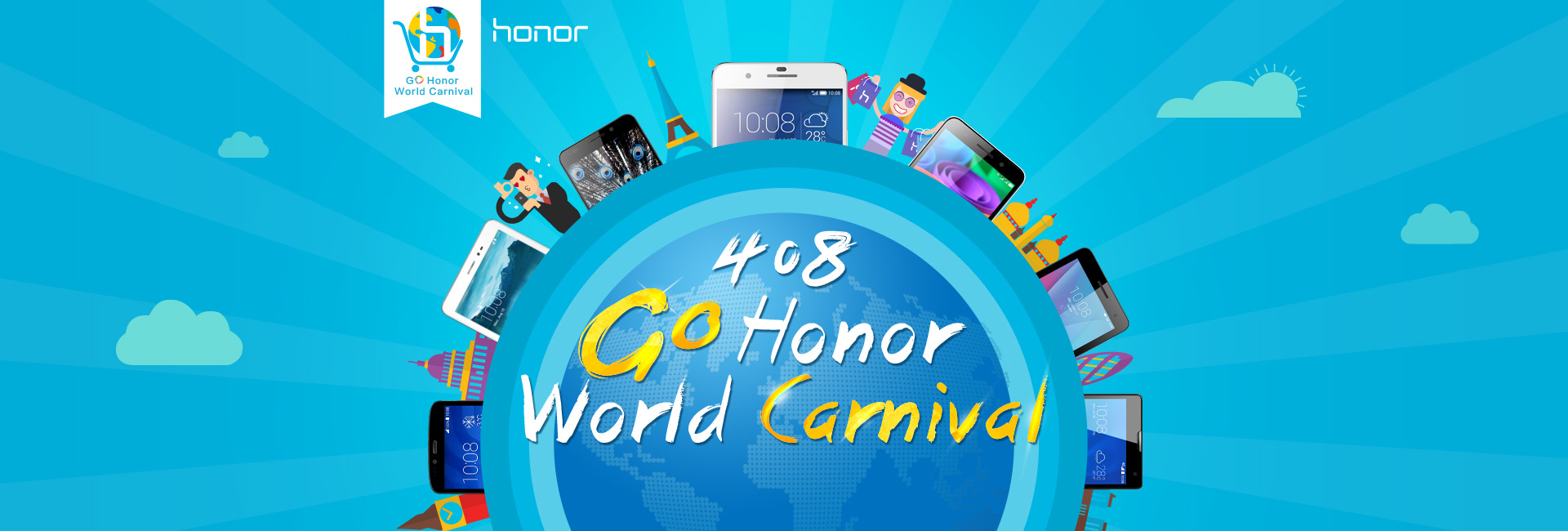 8 aprile 2015: Go Honor World Carnival
