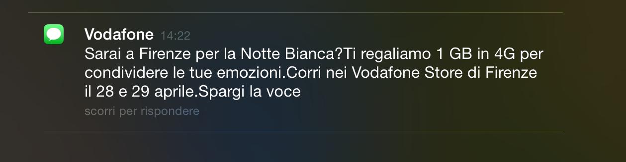 Vodafone Notte Bianca Firenze