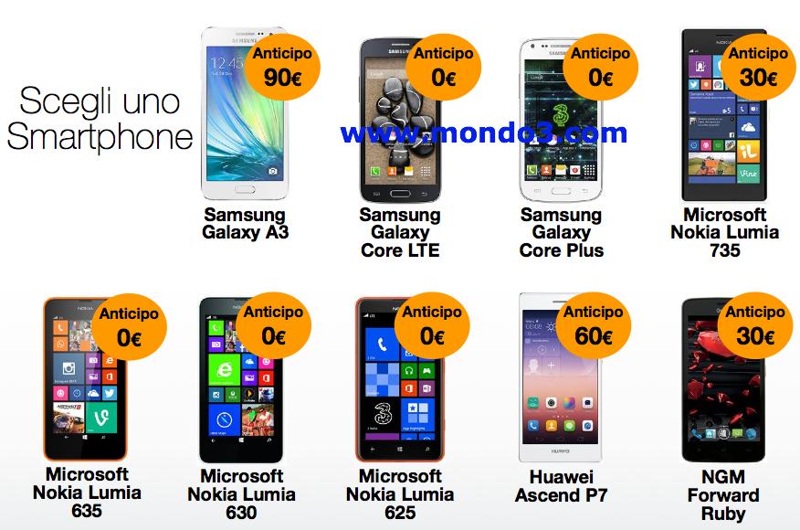 Listino smartphone AllIN Smart Raddoppia