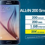 All-IN Smart 200 con Samsung Galaxy S6 in promo
