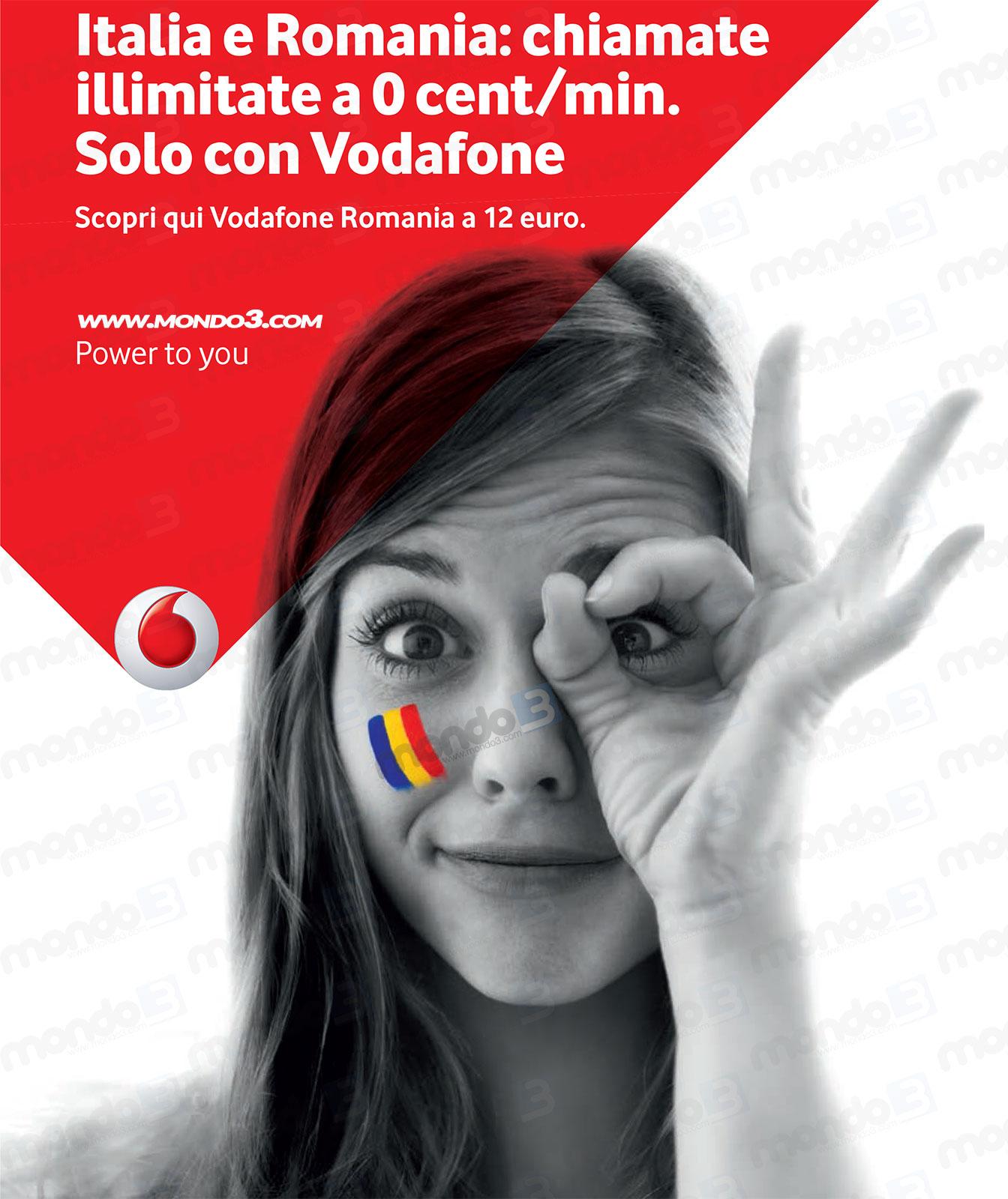 Vodafone Romania Nuova Tariffa Per Chiamate Gratis