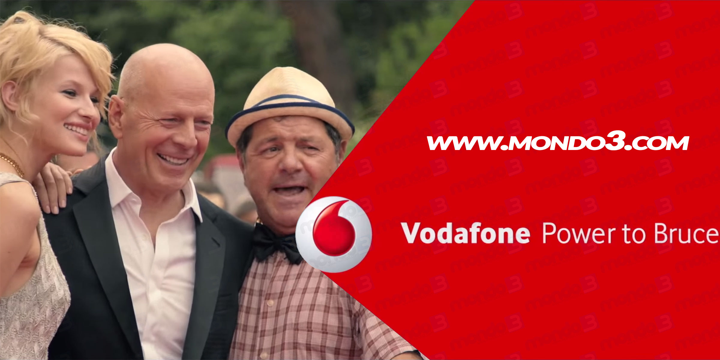 Vodafone Summer Card 2015 - lo spot con Bruce Willis