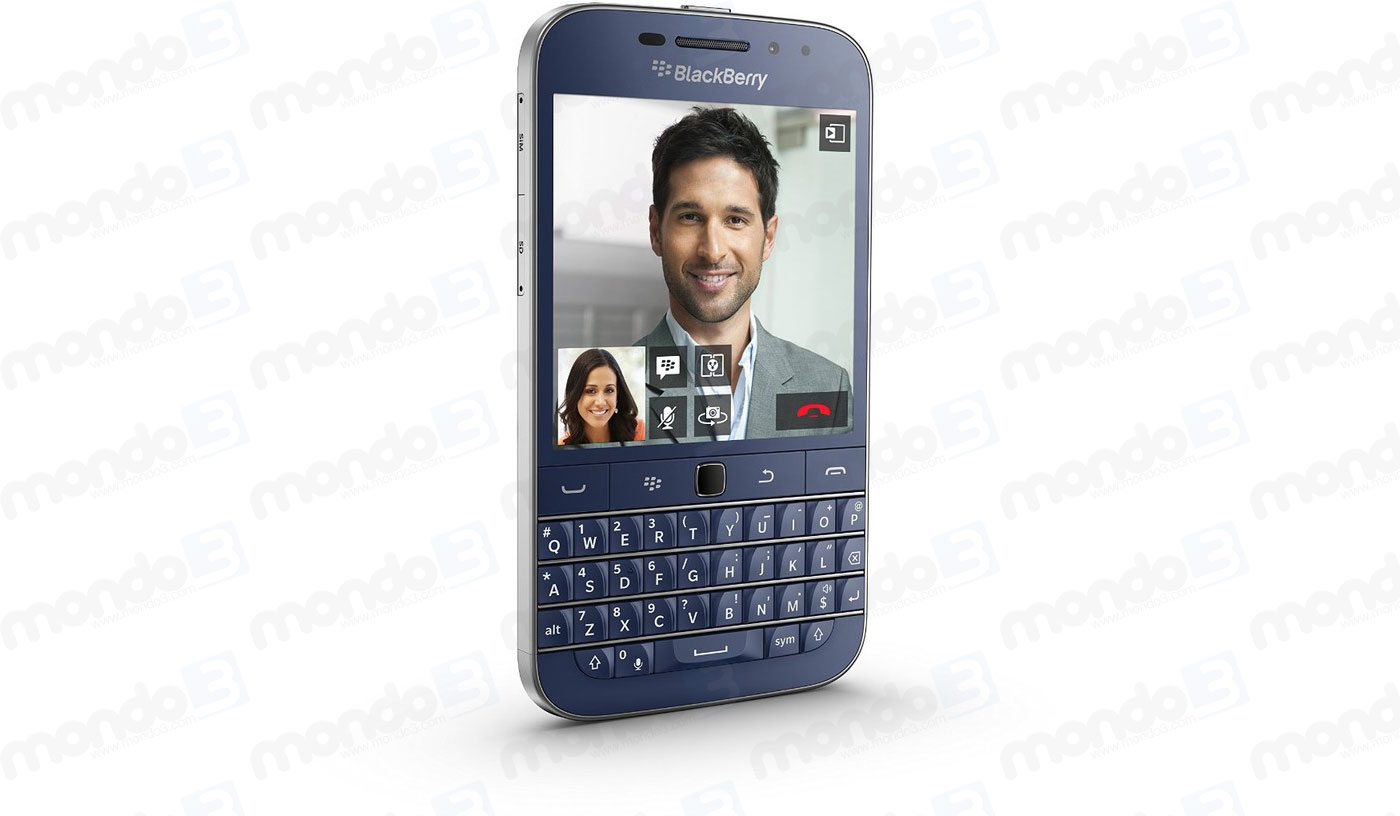 BlackBerry Classic - blu cobalto