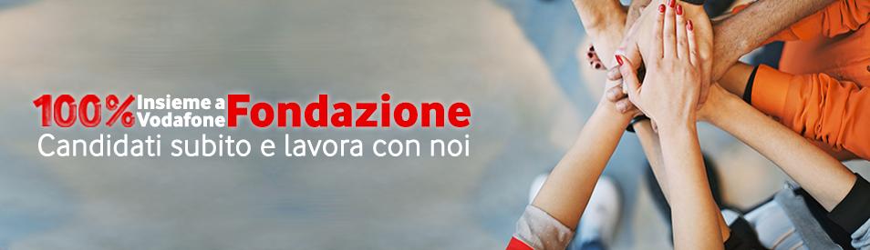 100% Insieme a Fondazione Vodafone