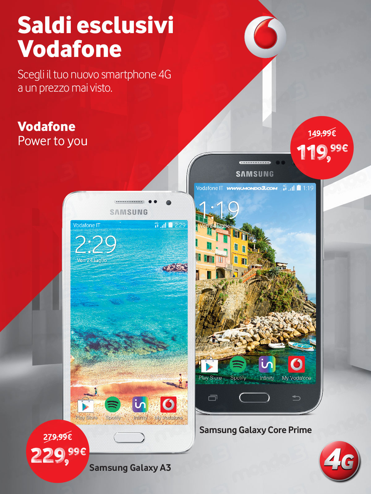 Saldi Vodafone estate 2015