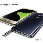 Samsung Galaxy S6 Edge+ e Note 5