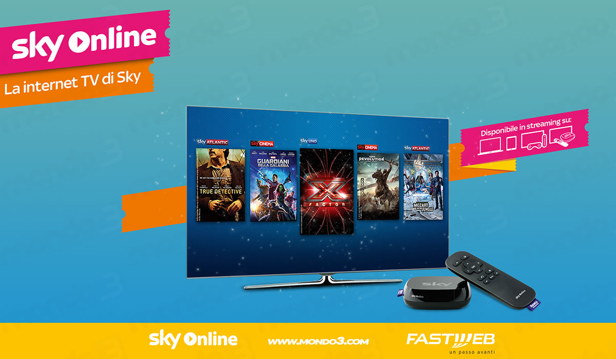 Promo Fastweb + Sky Online TV Box