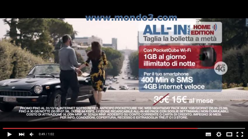 Spot 3 Italia Francini Bova