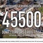 Salviamo la Riviera del Brenta: SMS solidale per la ricostruzione in Veneto