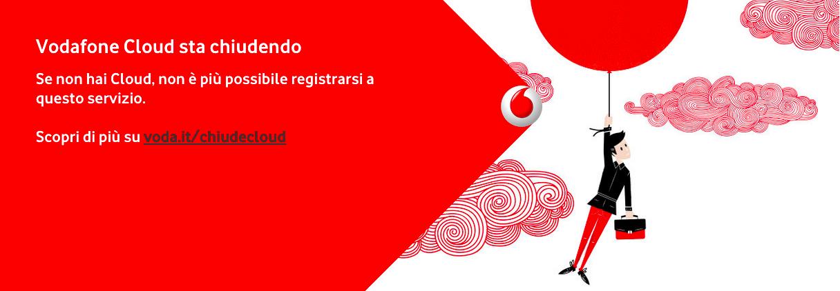 Vodafone Cloud chiude