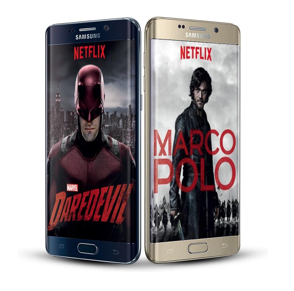 Galaxy S6 edge+ NETFLIX