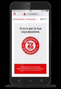 Soddisfatti o rimborsati App My Vodafone