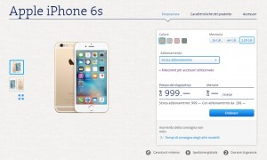 iPhone6S con Swisscom