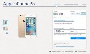 iPhone6S con Swisscom