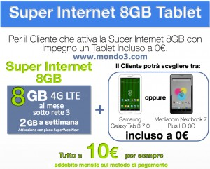 Superinternet 8GB Tablet