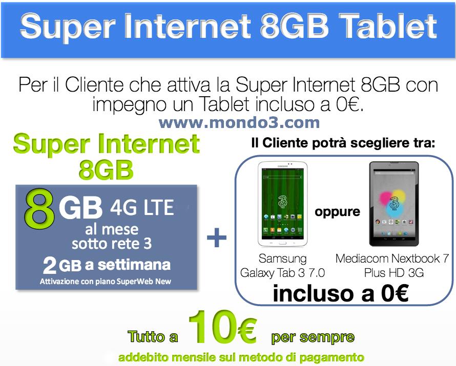 Superinternet 8GB Tablet
