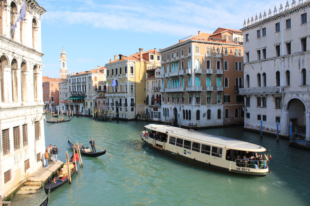 Vaporetto a Venezia