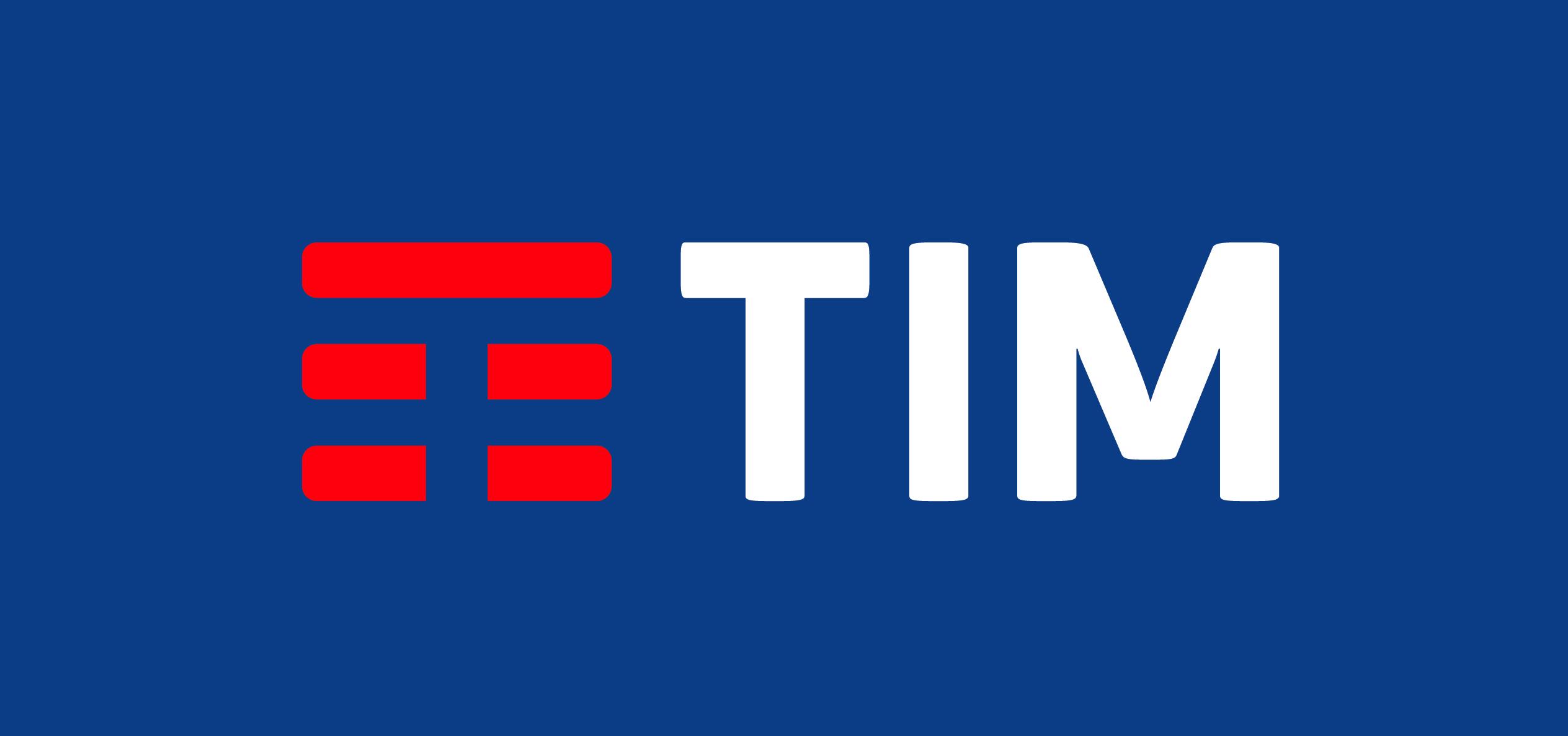 Il nuovo logo TIM (gennaio 2016)