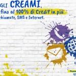 Promozione CREAMI PosteMobile +100% gratis