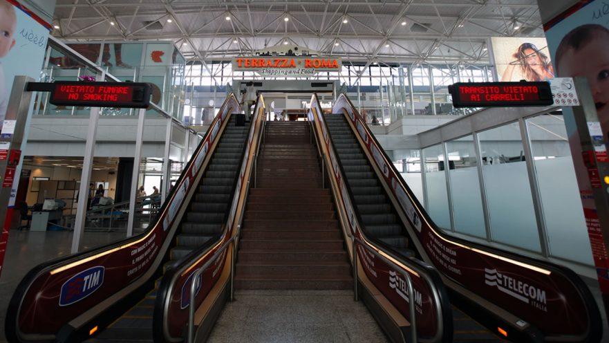 Aeroporto Fiumicino (foto adr.it)