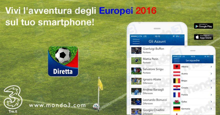 Diretta Europei 2016 3 Italia #Euro2016